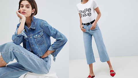 Simple & Fashionable: Denim on Denim