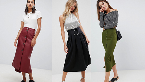 Midi Skirts for Autumn