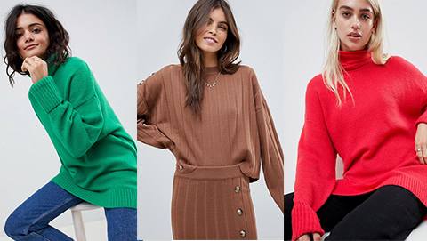 Colorful Knitwear by ASOS Design