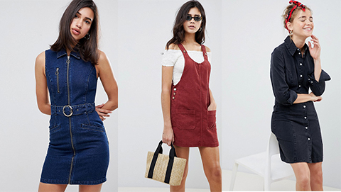 Denim & Cord Dresses